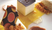 White Chocolate Terrine with Passion Fruit